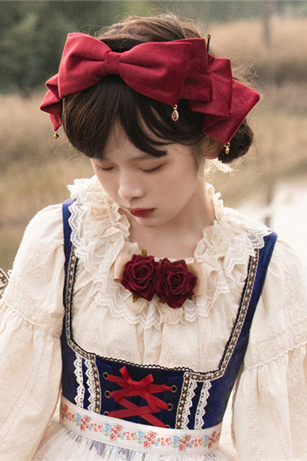 Miss Point ~The Song of Harvest Lolita Accessories -Pre-order