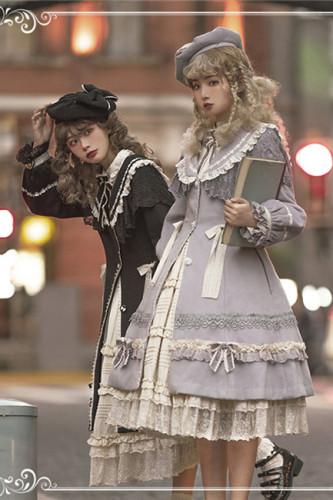 HinanaQueena ~Ferna Series Winter Wool Lolita Coat -Pre-order