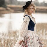 Miss Point ~The Song of Harvest Velvet Fishbone Lolita Vest -Pre-order