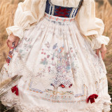 Miss Point ~The Song of Harvest Lace Apron -Pre-order