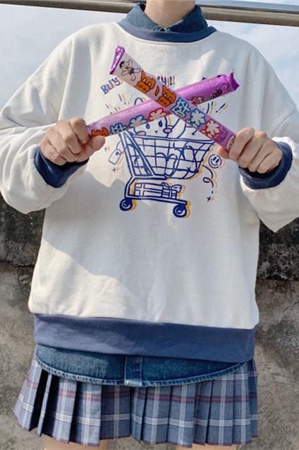 Empty Shopping Cart Sweet Hoodie