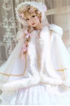 Snow Flower Ballad~ Lolita Cape-Ready MADE