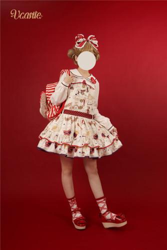 Vcastle ~Cookies ~ Lolita Salopette -Pre-order
