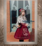 The Splendor of Gold&Siliver Tree ~Vintage Embroidery Lolita Blouse -Pre-order