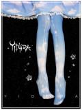 Yidhra Lolita ~Little White Cloud Lolita Tights -Pre-order