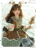 Siyuexiuman Vintage Long Sleeves Lolita OP