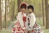 Alice Girl ~Plaid Strawberry Lolita Saloppette -Pre-order