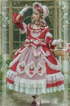 Elpress L Strawberry Garden Lolita OP -Pre-order