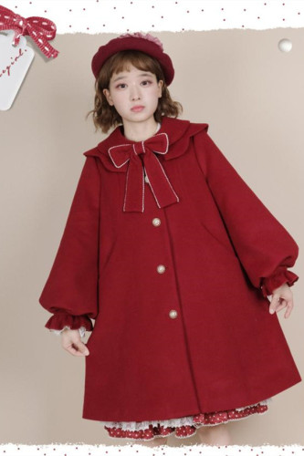Alice girl ~Elegant Lolita Long Coat -Pre-order