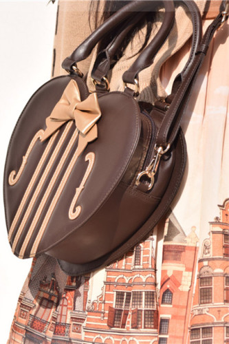 Morning Glory ~Violin Lolita Bag Chocolate*Gold - In Stock
