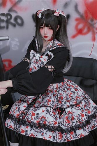 Diamond Honey Maiden Top + Skirt -Pre-order