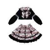 Diamond Honey Maiden Top + Skirt
