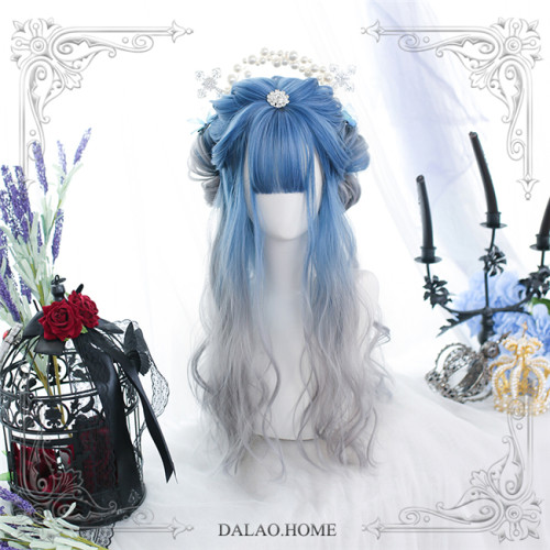 Dalao Home ~Yinghuo Lolita Long Curly Wigs