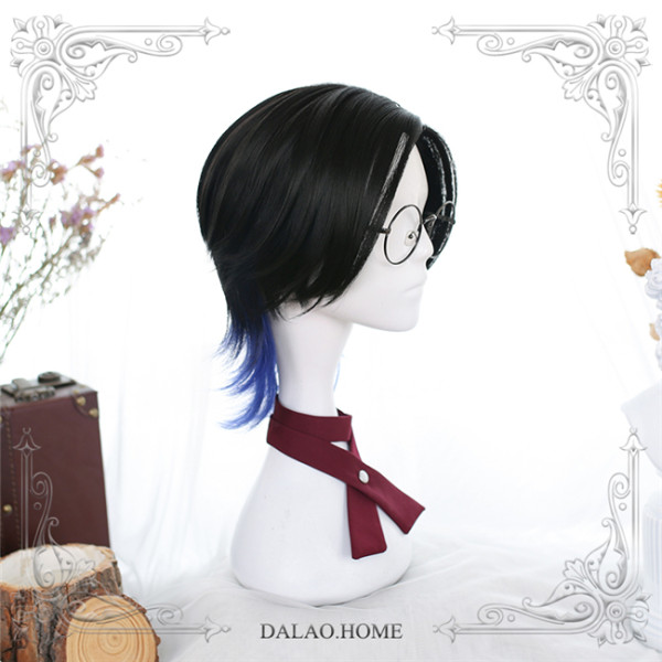 Dalao Home ~Langhao Lolita Short Wigs For Male