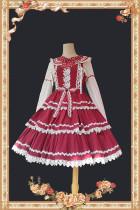 Infanta ~Lolita Tiered Skirt