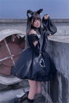 Diamond Honey Dark Gothic Lolita OP