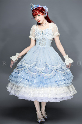 The Little Mermaid Elegant Lolita OP -Pre-order