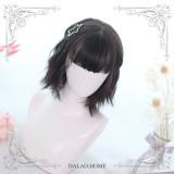 Dalao Home ~Lemon Tea-curly Lolita Short Wigs