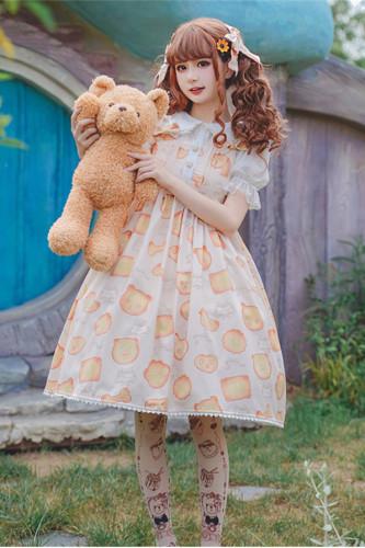 Qiaoqiao Biscuits~Sweet Lolita JSK