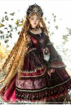 Eye of Red Heart~Vintage Elegant Lolita JSK -Pre-order