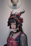 Hades God~ Headbow Lolita Accessories
