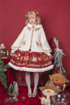 Annie Parcel ~Sweet Antlers Lolita Winter Coat