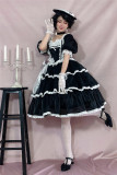 Dolls Party ~Ms Coco Elegant Lolita OP + Hat  In Stock