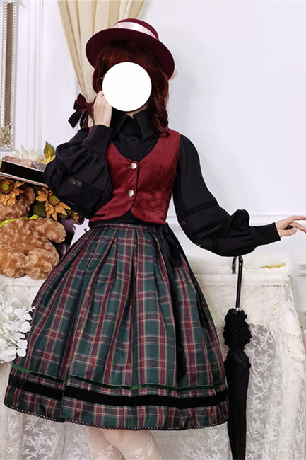 Ode to Joy Lolita SK/ Vest/ Blouse -(Custom-tailor Available)