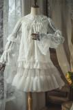 Doris Night ~Vintage Lace Lotus Sleeves Lolita Blouse