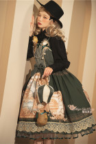 Magic Tea Party ~ Escape the Tulip Lolita JSK /Cape -Pre-order