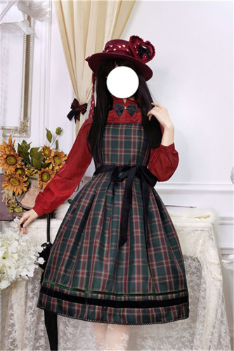 Ode to Joy Lolita JSK/ Vest/ Blouse-(Custom-tailor Available)