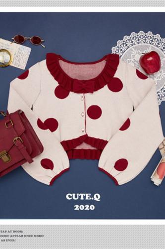 CuteQ-Official~Carol of Christmas Eve~ Lolita Bolero-Pre-order