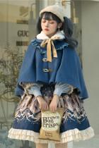Explore the Stars~Vintage Sweet Lolita Skirt/Cape/Coat -Pre-order