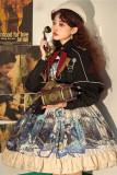 Abyss~Vintage Lolita JSK/Cape Version 2-Pre-order