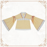 Phoenix Tweet~Vintage Qi Lolita High Waist JSK/Blouse - Pre-order