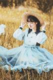 Withpuji Shimmer Lolita OP/Overskirt-Pre-order