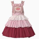 Withpuji Strawberry Melaleuca Lolita Layer Skirt-Pre-order