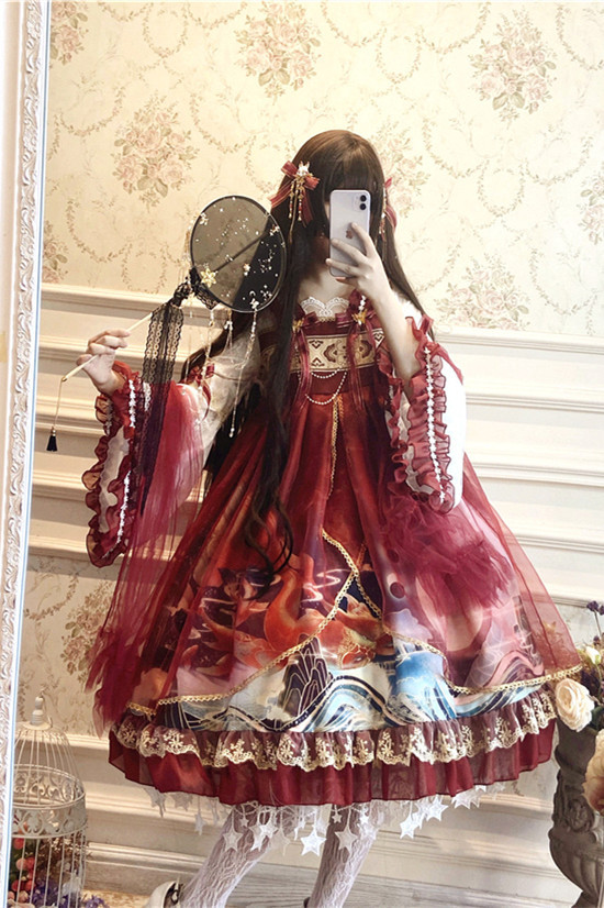 Dragon and Pearl~ Qi Lolita OP
