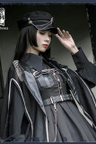 Night Owl ~Military Gothic  Lolita Cape-Ready Made