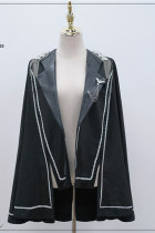 Night Owl ~Military Gothic  Lolita Cape-Ready Made