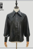 Night Owl ~Military Gothic  Lolita Blouse-Ready Made