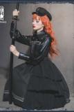 Night Owl ~Military Gothic  Lolita JSK /Set-Ready Made