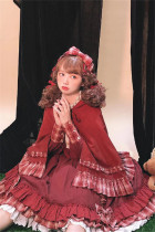 Your Highness ~Little Red in the Forest. Alice in the Forest Lolita OP/ Fullset-Pre-order