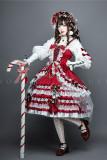 Leicester ~Christmas Lolita JSK-set- Ready Made
