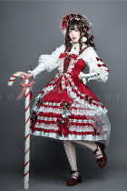 Leicester ~Christmas Lolita JSK-set- Ready Made