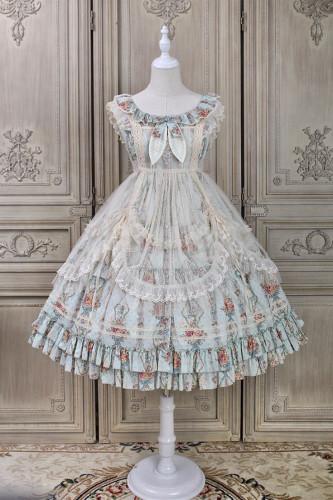 Alice Girl ~Flower Wall Elegant Lolita JSK -Pre-order