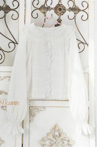 Vcastle ~Icing Sugar Sweet Lolita Blouse -Pre-order