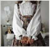 Bell Sleeves Easy to Coord Blouse