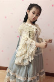 Prom in Fairytale Town~Lolita Hime Sleeves Blouse for Children