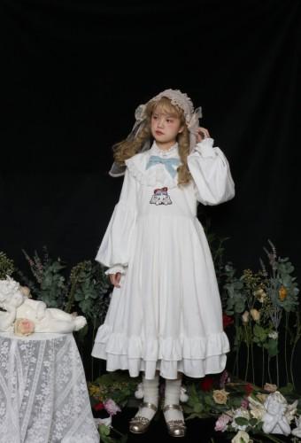Labeau Cupid Aline Shape High Waist Velvet Dress